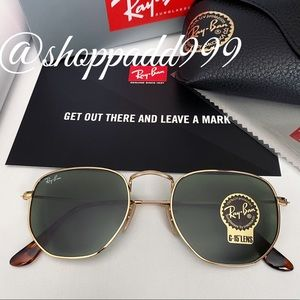 Ray-ban Flat Hexagonal RB3548 New 💯Authentic